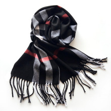 Large Square Plaid Shawl 2017 Winter Warm Women Cashmere Scarf oversize pashmina 180x33cm & 30 Type Colors Scarf Warps Wholesale(China)