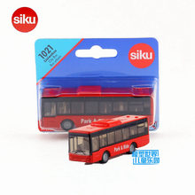 Free Shipping/Siku 1021 Toy/Diecast Metal Model/LineBus City Bus Urbain Car/Educational Collection/Gift For Children/Small(China)