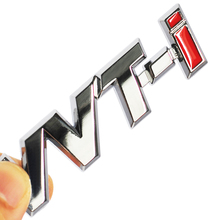 1Pc Toyotas Corolla Side Stick Ralink VVT-i VVTi Logo Chrome Metal Silver Strip Car Fender Sticker Side Emblem Badge for TOYOTA