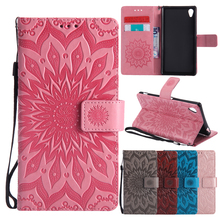 Flip Leather Case sFor Fundas Sony Xperia M4 Aqua case For coque Sony M4 Case E2333 E2353 Wallet Cover Stand Phone Cases
