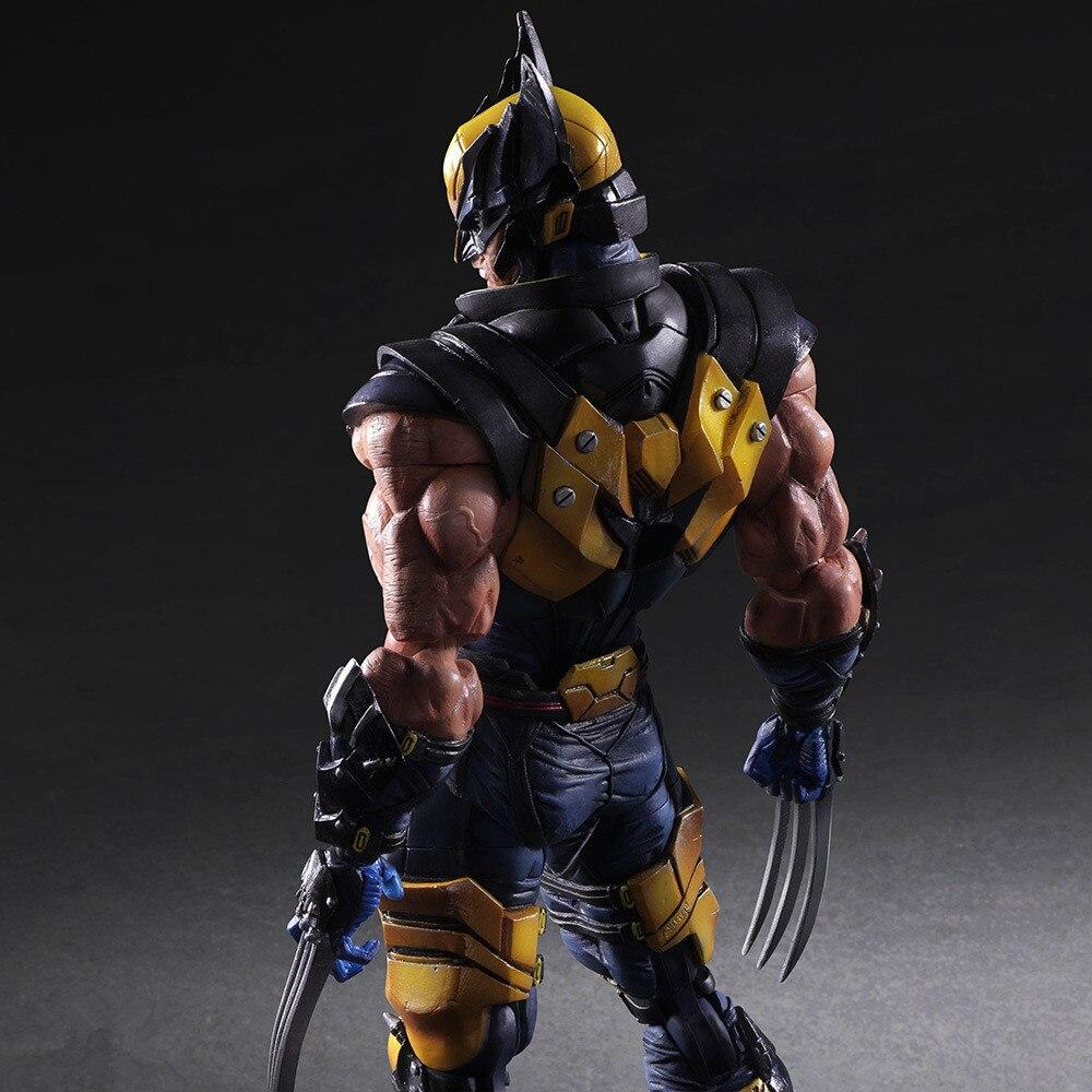 Wolverine  26cm Marvel X-MEN Realista