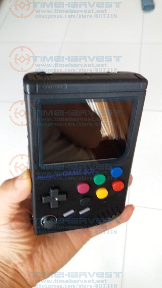 black color case and colored buttons