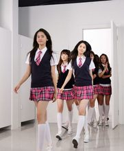 Wholesale Fashion Girls' Generation/GG Stage show clothing Japan&Korea Style preppy for girls cosplay student school uniforms