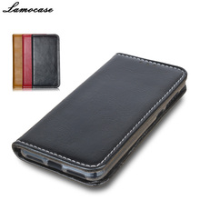 "Lamocase For Huawei y5 ll Y5 2 Flip Leather case For Huawei Honor 5A LYO-L21 5.0"" Wallet Stand Phone Case Cover Protective Bags(China)"