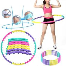 Professional Weighted Detachable Ring Magnet Hula Hoop Workout Massage Exercise Hula Hoop Toys