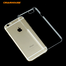 Ultra Thin Transparent Hard Plastic Pc Clear Phone Case Cover For Apple iPhone 4 4s 5 5s SE 6 6s 7 Plus iPod Touch 5 6 Back Bags