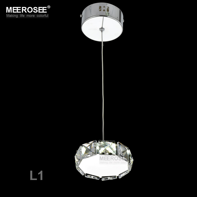 Small Crystal LED Pendant Lights Fixture Star Round Square Shape Hanging Suspendu Lamp Aisle Corridor Porch Lamp Modern Lighting(China)