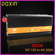 UPS Inversor DC To AC 12V 220V Car Power Inverter 500W Universal Uninterrupted Power Supply Auto Charge ST-N028