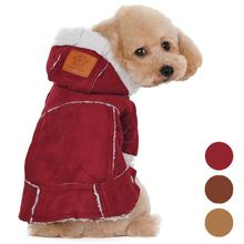 2015 New dog fashion clothes pet winter Warm Cotton Blend jackets for Small dogs Pet products for dogs pet shop roupa Y5(China)