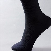 1 pair high quality man socks male high cotton men sock pure color business style autumn 2016 hot wholse Japan man's(China)