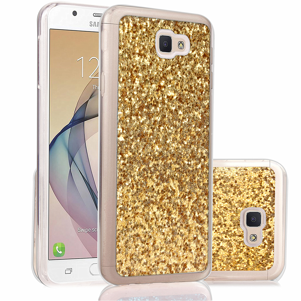 Samsung Galaxy J5 Prime G570 On5 2016 Case Luxury Bling Glitter Soft Silicone TPU Case Samsung J 5 Prime Slim Back Cover