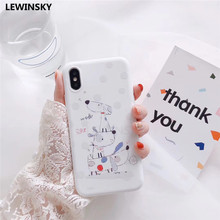 Buy Cute soft Tpu Phone cases iphone X 8 6s 7 Plus case Cartoon dog White silicone back cover iphone 7 6 8 Plus X case x20 for $2.39 in AliExpress store
