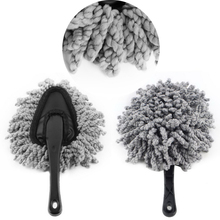 1piece Multi-functional Car Duster Cleaning Dirt Dust Clean Brush Dusting Tool Mop Gray Brush AJ