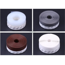 25mm 5Meters/Lot Self adhesive 3M Glue Door Window Draught Dust Insect Seal Strip Soundproofing Weatherstrip(China)