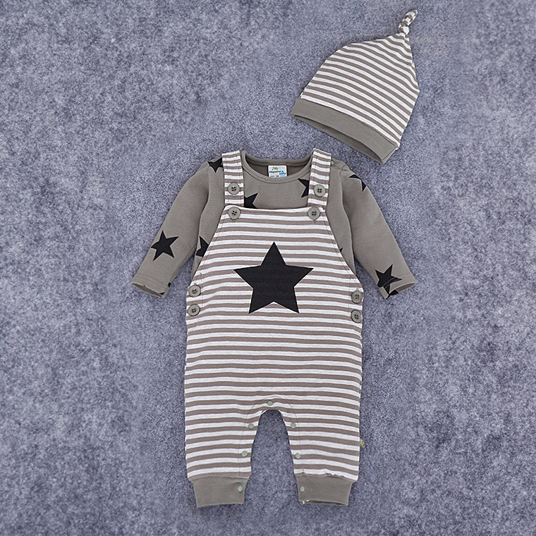 Long Sleeve Girl Boys Rompers and Hat Costumes Baby Romper Newborn Baby Rompers Baby Clothing Set Fashion Cotton Infant Jumpsuit<br><br>Aliexpress