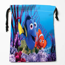New Arrival Finding Dory Drawstring Bags Custom Storage Printed Receive Bag Type Bags Storage Bags Size 18X22cm(China)