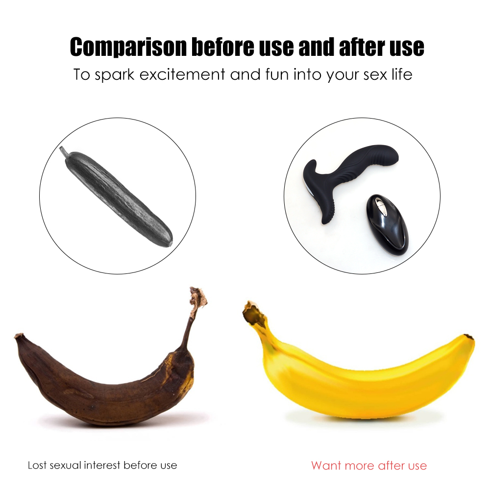 _03USB Charging Wireless Remote Anal Plug Vibrator Prostate Massager Man Masturbator Silicone Butt Plug Vibrator Gay Anal Sex Toys