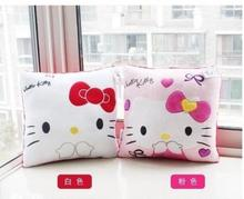 35cm x 35cm Hello Kitty Plush Pillow Special Lovely Comfortable Pillow KT Plush Doll Free Shipping(China)