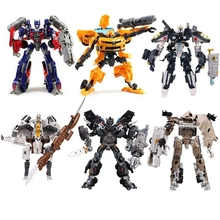 27CM Original Box Transformation 4 Car Robots Toys Action Figures Classic Robots Car Toys for Children gifts Brinquedos