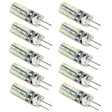 NEW 10pcs Energy-Saving G4 DC 12V 2 Watt 24 3014 SMD 6000-6500K 2600-2900K LED Lamps Lights(China)
