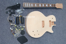 New brand electric unfinish guitar kit with all parts and p90(China)