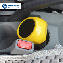 SHEATE Car Trash Bin Used in drink holder/Door side Garbage Dust Can Storage Box Case Auto Pocket Bag Stowing accessories(China)