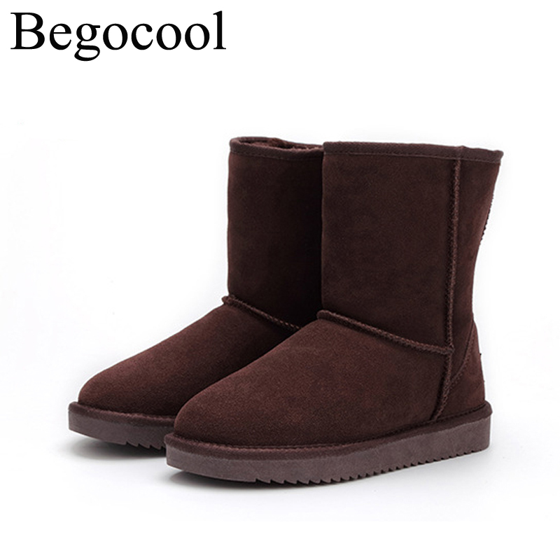 Hot Begocool shoes ugs women winter snow boots short for cheap classic botas mujer bottes femme BGC5825-002<br>