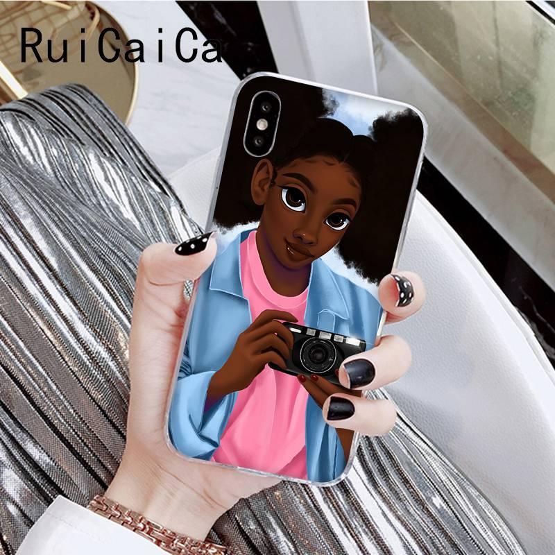 African Beauty Afro Puffs Melanin Poppin  Black Girl