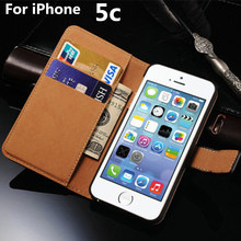 5c Case For Apple iPhone 5C Luxury case Split Flip leather phone Protective sleeve Card With Stand Cover black Cases iPhone5C