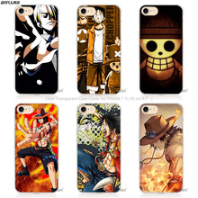 BiNFUL Hot Sale One Piece strong world Hard Transparent Phone Case Cover Coque for Apple iPhone 4 4s 5 5s SE 5C 6 6s 7 Plus(China)