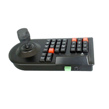 GZGMET  IP network RS485 Camera Controller Keyboard 3D handle joyst max 64 set  DVR PTZ  speed Dome Camera cctv accessories