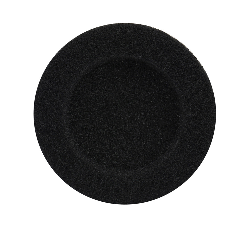 20 pcs 10 Pair 55mm Black Soft foam pads ear pads sponge earpads headphone cover for headset Headphone #UO(China (Mainland))