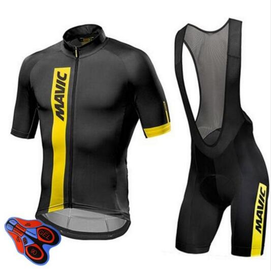 Mavic Mens Cycling Jersey Short Sleeve 2018 Pro Team Bike Clothing Maillot Cycling Set Ropa Ciclismo Hombre Mountain Bike Jersey