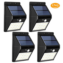 Solar Lights Outdoor Super Bright 28 LED Waterproof Motion Sensor Security Light Detachable Design Wall Light for Garden light(China)