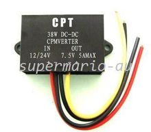 DC/DC converters Regulator Reducer 24V to 7.5V 5A 38W DC-DC power converters (DCCON-C7.5)