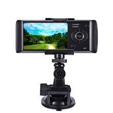 Hot Sale Car Camera Dvr Recorder Dual Lens Camcorder Dash Cam with Night Vision Rear View Dashboard Led Car DVRs