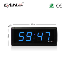 "[Ganxin]1.8"" Wholesale and Remote Control Dimmable Digital Led Clock Stopwatch Function"