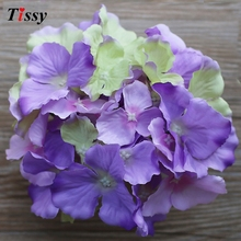 artificial silk decorative hydrangea heads simulation DIY flower head wedding home decoration - Wedding & Home Decoration Supplies Store store