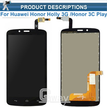 Full LCD DIsplay + Touch Screen Digitizer Assembly For huawei Honor Holly 3G /Honor 3C Play / Hol-U19 Hol-T00 HOL-U10