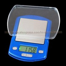 100g/0.01g Mini Electronic Jewelry Scale/Tray Scale/Pocket Scale with Green Backlight &20PCS/Lot DHL/UPS/FEDEX/EMS Free Shipping(China)