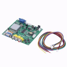 Kebidu New Arrival Arcade Game RGB/CGA/EGA/YUV to VGA HD Video Converter Board HD9800 GBS8200 Hot green board(China)