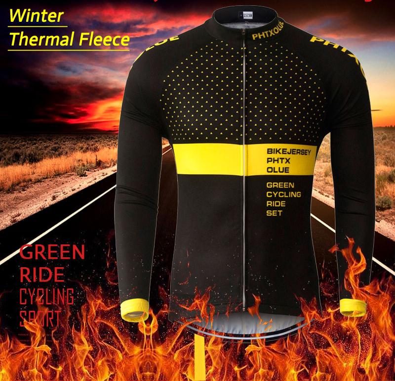 41. Pro Bike Team Warm Long Sleeves