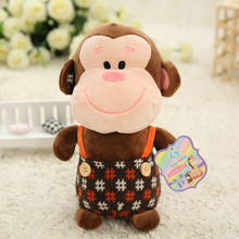 Wedding doll plush toys, strap small monkey doll, children present campaign gifts, ornaments Jushi