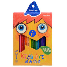 12/24/36 Colors/Set Hexagon Wood Pencil 174.5mm Students Drawing Colored Pen School Pencil Stationery Paint Pen