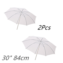 "2PCS Godox 33"" 84cm Soft White Diffuser Studio Photography Translucent Umbrella for Studio Flash Strobe Lighting"