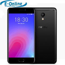 "Original Meizu M6 4G LTE Cell Phone 3D laser engraving MT6750 processor 5.2"" 3GB RAM 32GB ROM 13MP 4G LTE Fingerprint ID(China)"