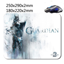 Guild wars 2 guardian Rubber Gaming Mouse Mat Non-slip Durable Fashion Computer and Laptop Mouse Pad 220*180*2 mm Or 290*250*2mm