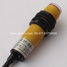 DIA 18MM E3F-5B1,5DL PNP ON wholesale market photoelectric switch sensor auto control(China)