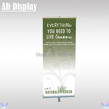 80*200cm 6PCS High Quality One Foot Aluminum Retractable Roll Up Banner Stand,Portable Pull Up Display(Only Stand)(China)