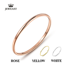 18k Gold Female Rings Beautiful Exquisite Smooth Classic Real 750 Solid Rose Yellow Women Girl Gift Party Discount Good Nice new